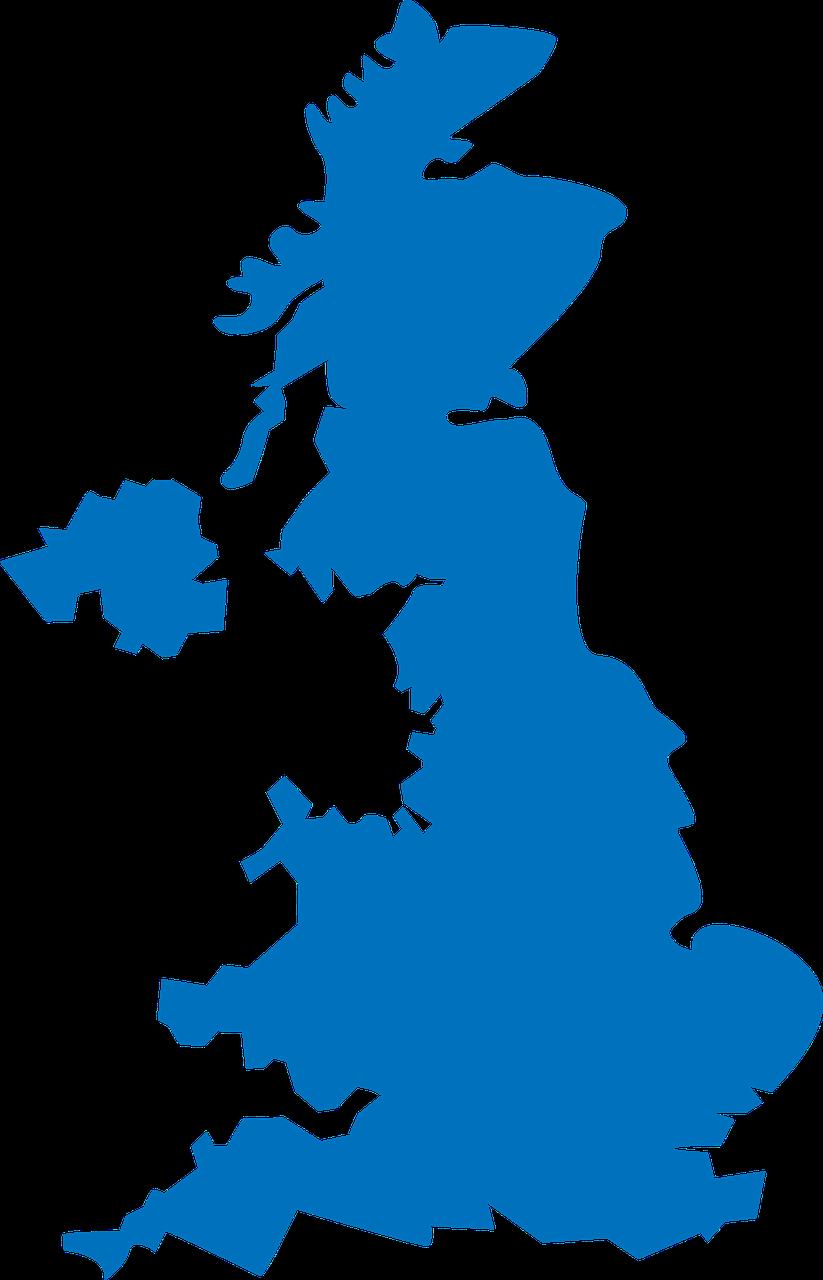 Polar Plus UK map